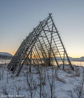 Fiskehjell ved Langnes, Tromsø