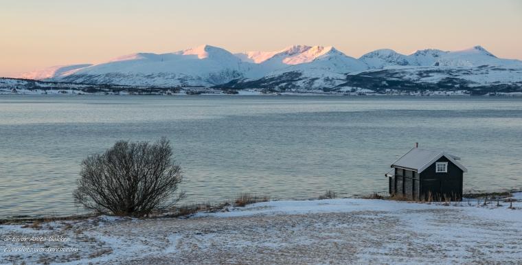Motiv i nærheten av Tromsø.
