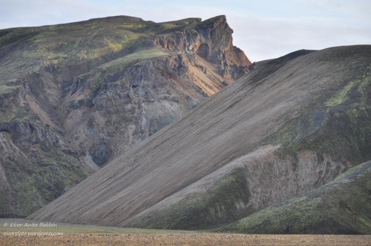 Atter et fargespill i fjellene, Landmannalaugar.