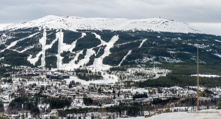 Trysilfjellet sett fra Ås/Bergevegen.