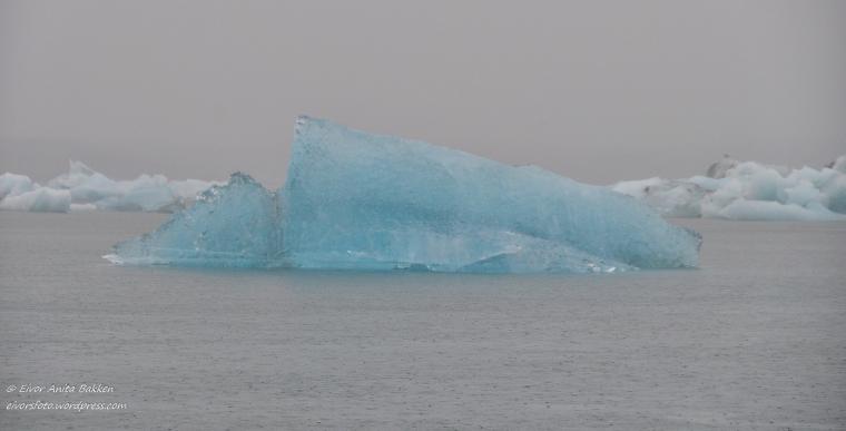 Blått isberg, Jøkulsarlon.